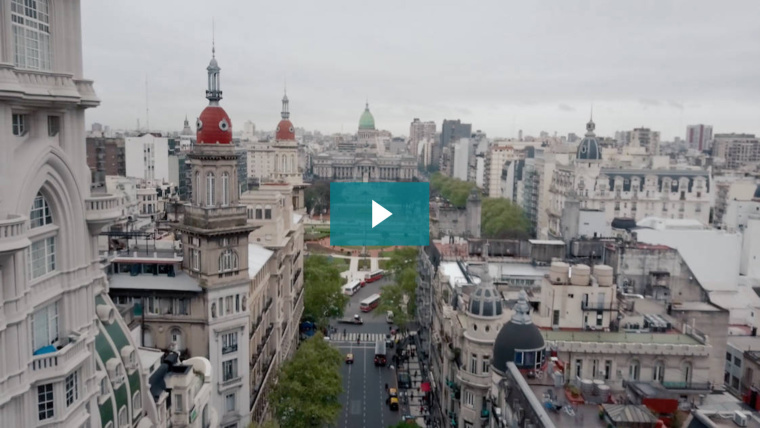 A lovely image of Buenos Aires