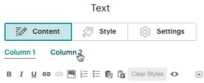 Textblock-Contenttab-click2Column