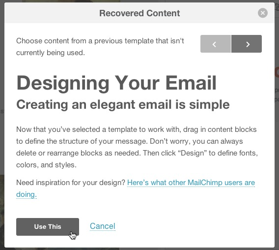 Switch Email Templates