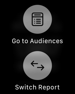 Apple Watch Audience Selection
