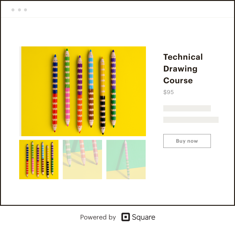 Pencils with yellow background