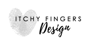 Itchy Fingers Design Logo
