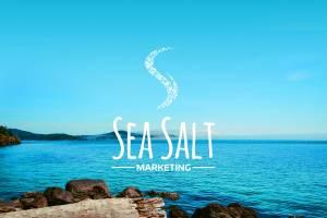 Sea Salt Marketing Logo