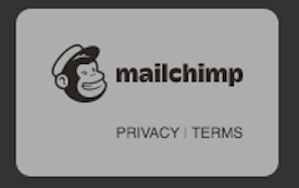 Privacy and Terms badge on a Landing Page
