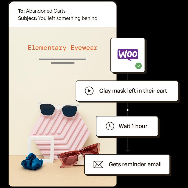 "Customer Journey Builder CJB Integrations ""Connect data"" Woo Commerce"