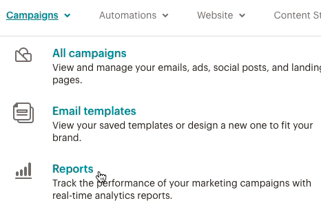 dropdown-campaigns-clickReports