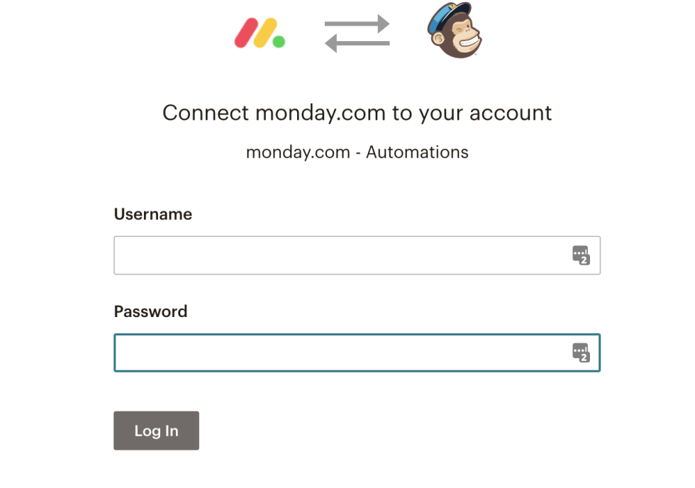 Connect your Mailchimp account