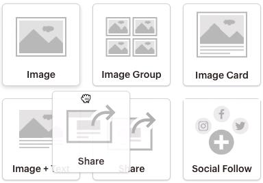 ContentBlocks-Share-clickanddragblock