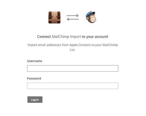 mailchimp pour mac