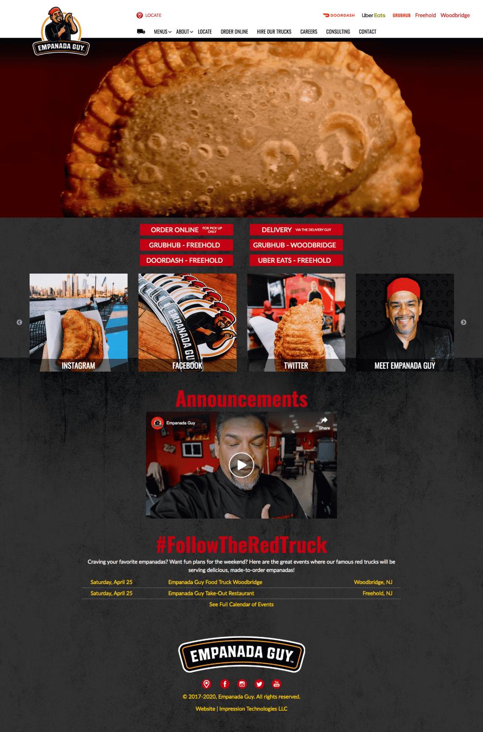 Image of Empanada Guy campaign