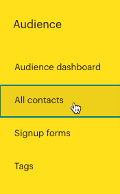 Cursor Clicks - All contacts