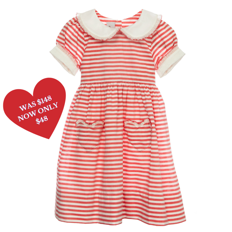 image of a dress with hearts