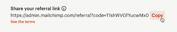Cursor Clicks - Copy - Mailchimp & Co Referral Link