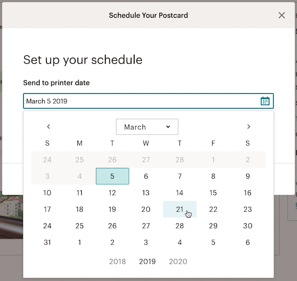 modal-scheduleyourpostcard-clicksendtoprinterdate