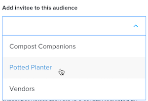 Cursor Clicks - Mailchimp Audience in Calendly