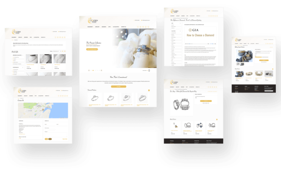 Image of web store for Golden Tulip