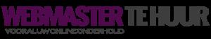 Webmaster Te Huur Logo