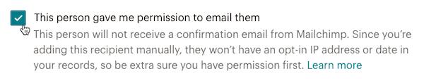 """Cursor-Klicks – Kontrollkästchen """"Subscriber Permission"""" (Berechtigungen von Abonnenten)"""