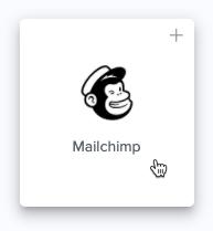 Cursor Clicks - Mailchimp listing - Automate io