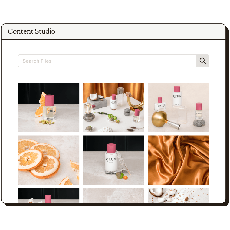 Content Studio Abstract UI Crux Fragrance Static