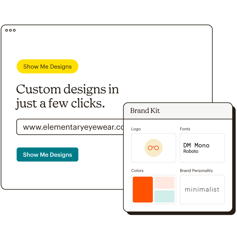 Import Your Brand Assets Creative Assistant Abstract UI Brand Kit Static