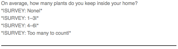 cb bloque de texto etiquetas merge de una encuesta