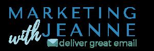 Marketing with Jeanne logo