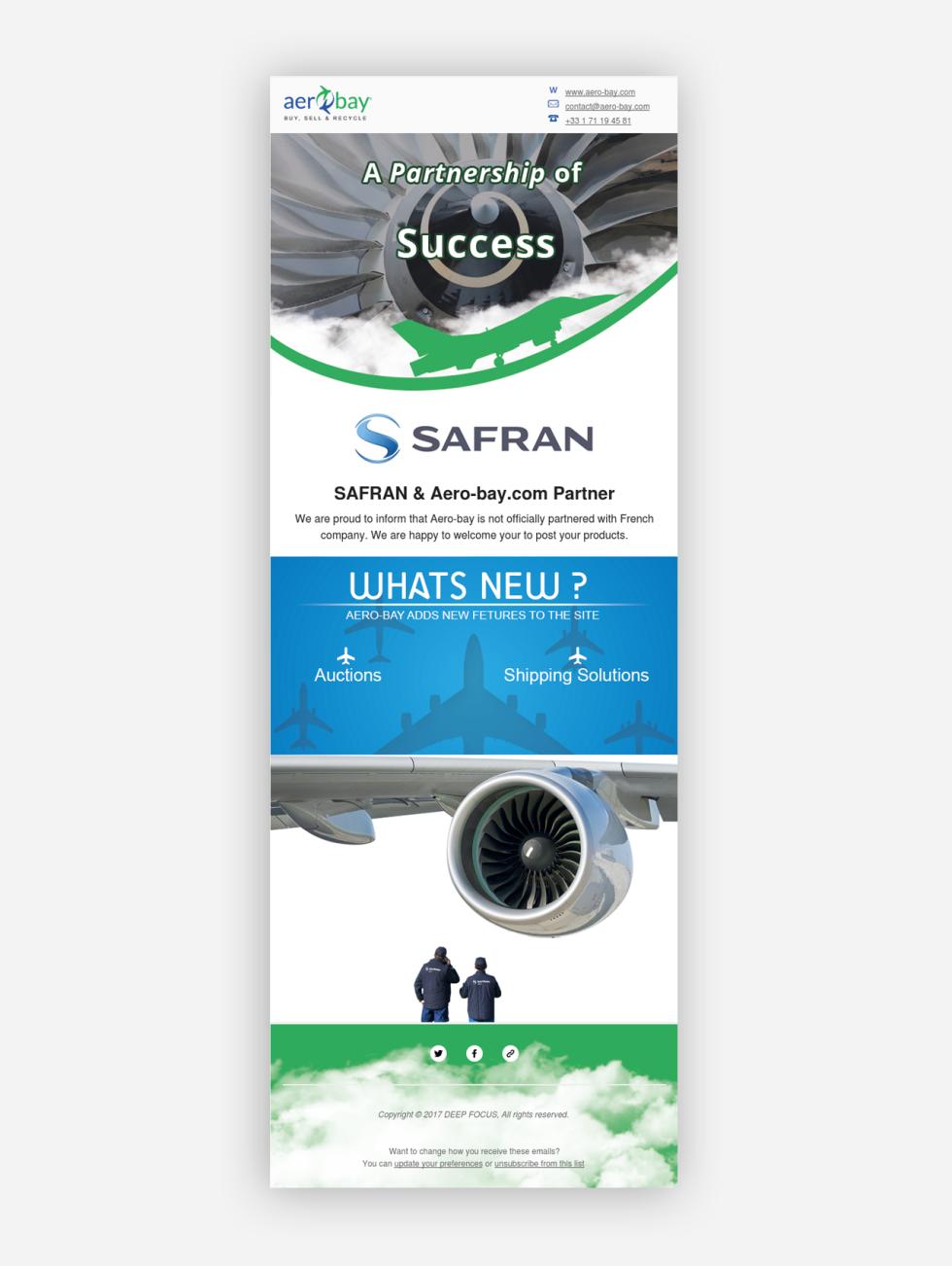 Image of Aerobay newsletter