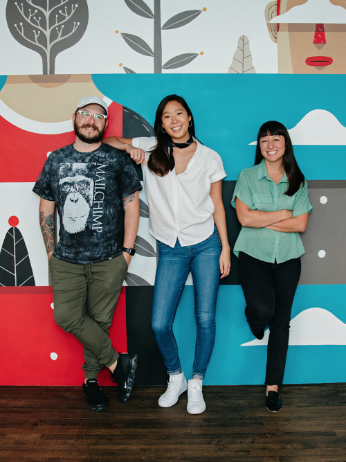 Mailchimp's recruiting team