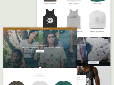 Image of web store