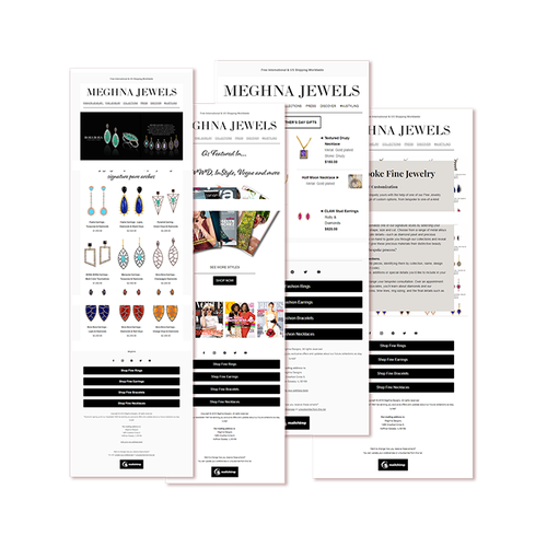 Image of templates created by DailyMode Studio