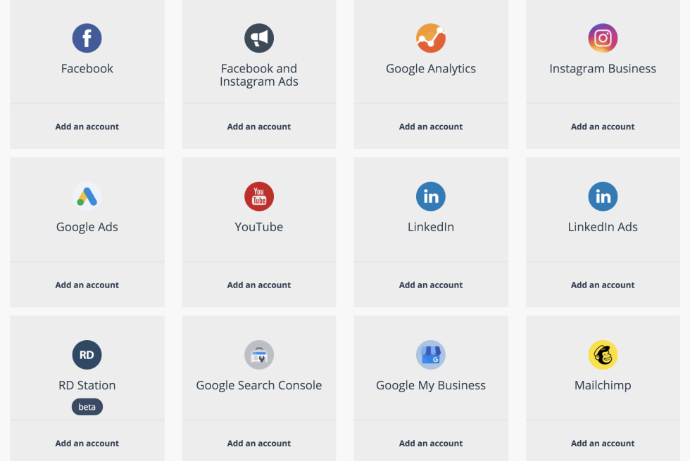Image of different integration apps.