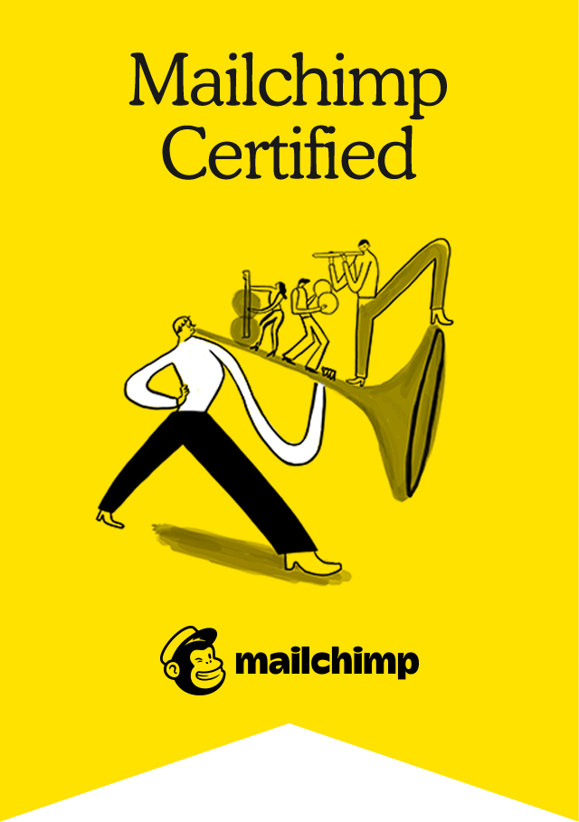 Image of a Mailchimp certification