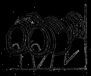 Illustration of man looking through binoculars.