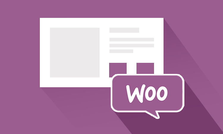 Image of webpage layout with the words Woo in a text bubble