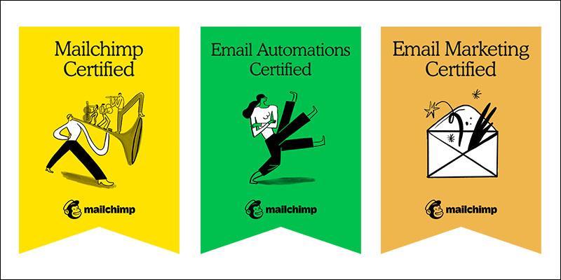 Mailchimp Certification Badges