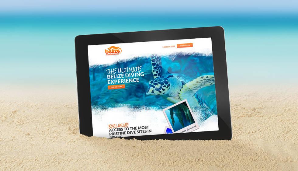 Belize Diving Services - Paid Social, SEO, Web Design and Development