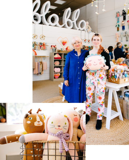 Photograph showing Mailchimp customer Blabla kids in their store