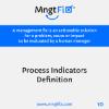 Management Fix 10 Process Indicators Definition