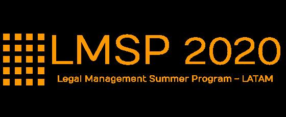 Logo naranja Legal Management summer progam fundacion fide