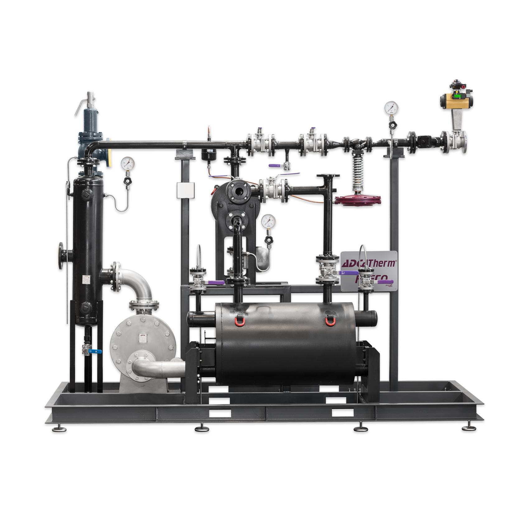 Система рекуперации тепла острого пара или высокотемпературного конденсатаFRECO  ADCA Прима Трейдинг Prima Trading