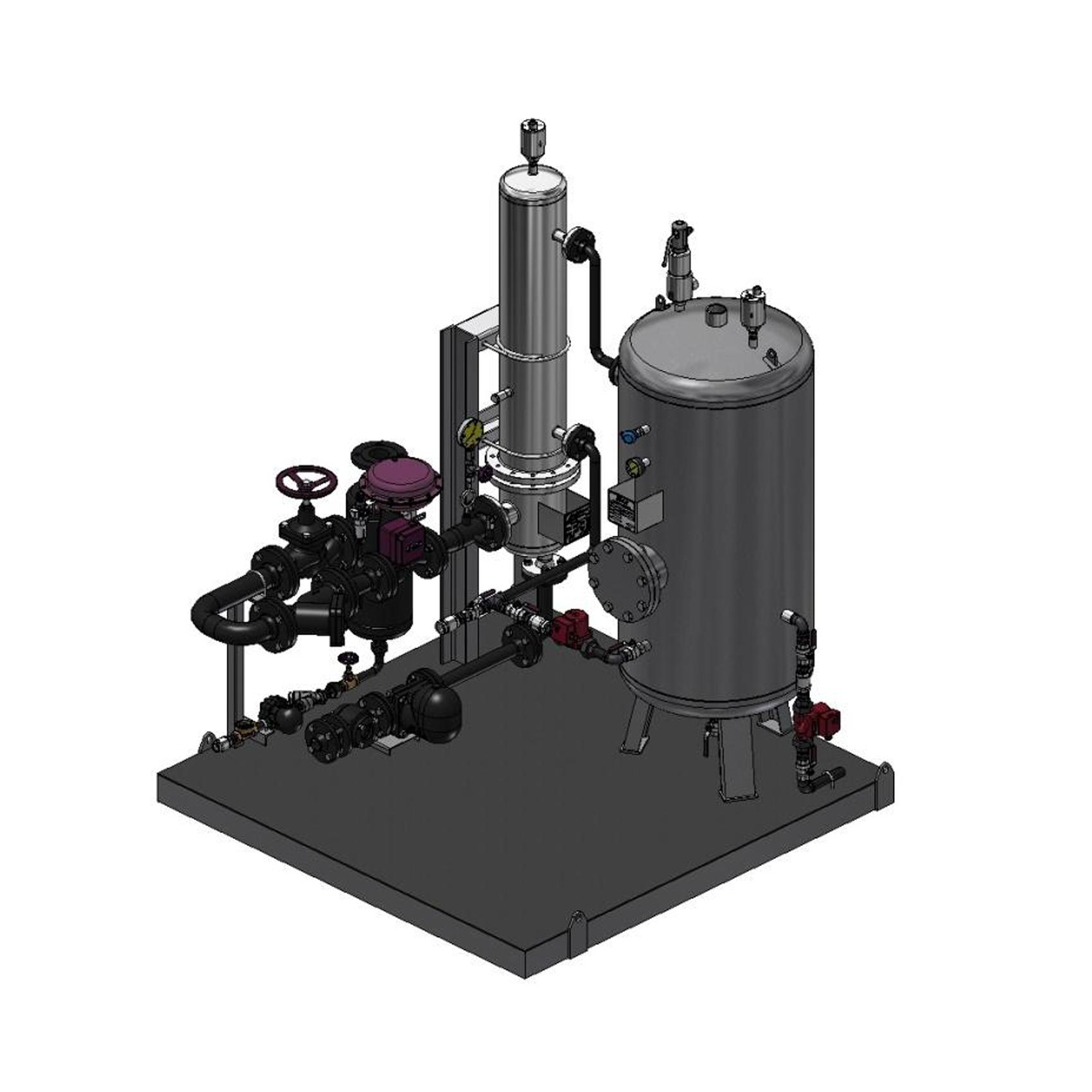 Резервуар для нагрева воды WAVE ADCA Прима Трейдинг Prima Trading