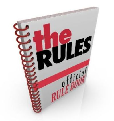 Rule book graphic
