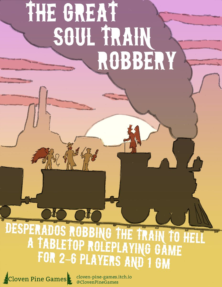 ZineQuest 2 image for The Great Soul Train Robbery game's Kickstarter