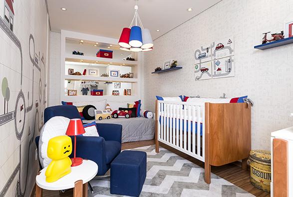 Decoração de quarto de bebê no anália franco