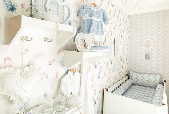Decoração de quarto de bebê no Jardins