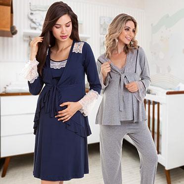 Camisola e Pijama maternidade na vila olímpia