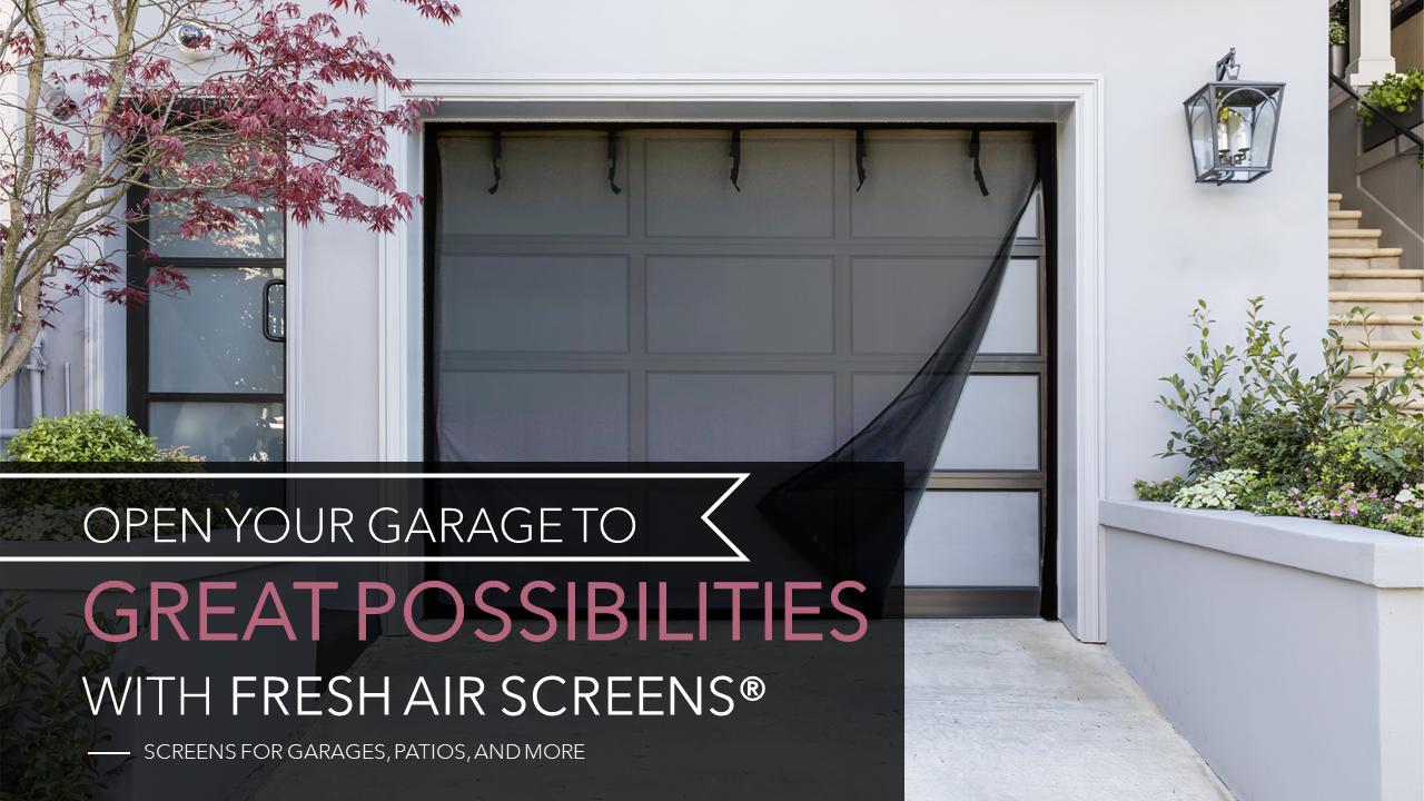 Fresh Air Screens Large Banner