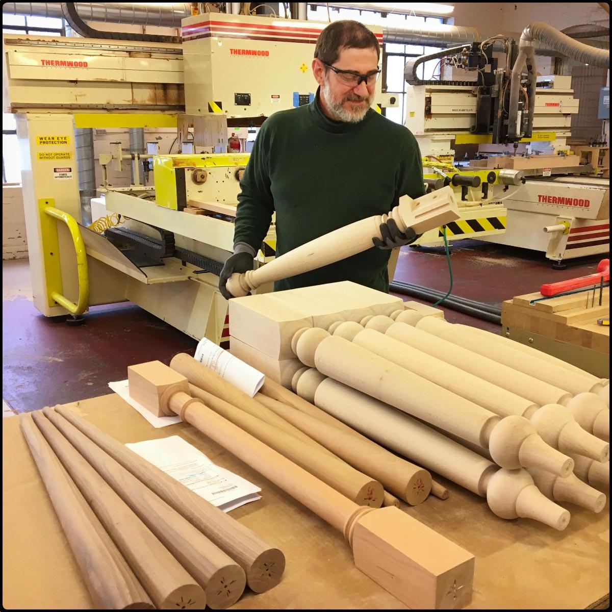 Inspecting an EasyBase leg