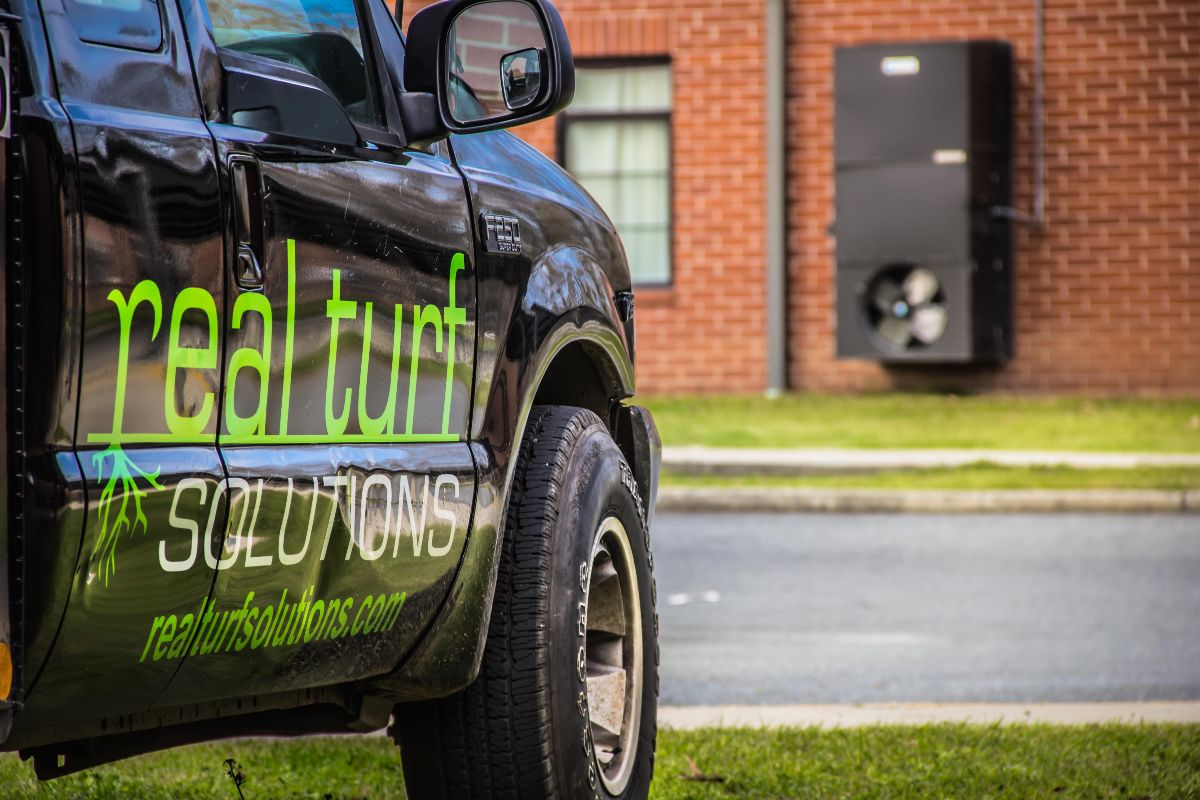 Real Turf Solutions truck